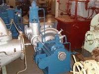 Turbina a vapor marca Equipe, modelo TVEW-500, pressão de vapor vivo 21 kgf/cm²