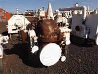 Turbina marca NG, DME 700S, múltiplos estágios, pressão 21 kgf, contra pressão 1,5, 4013rpm, 2000hp