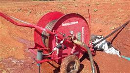 vense-se carretel de irrigação 50/80 usado marca irrigat