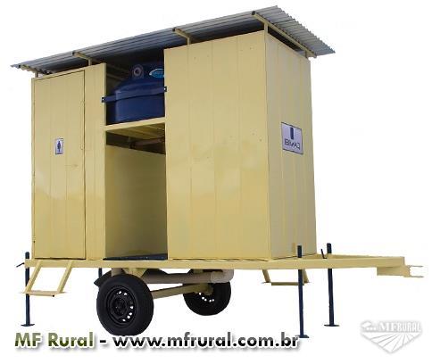 Banheiro Agrícola - Banheiro Rural - Sanitário Móvel