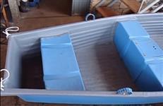 Barco em fibra  sob Encomenda