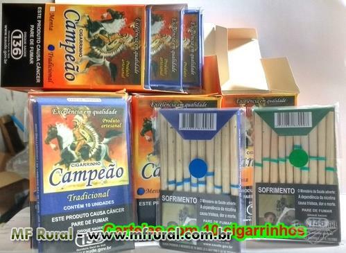 cigarros de palhas em geral
