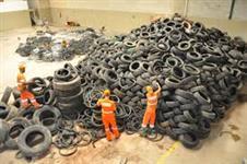 Sucata de pneus