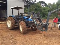 Trator Ford/New Holland TL 90 4x4 ano 99