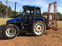 Trator New Holland TL 80 4x4 ano 00