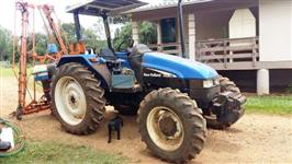 Trator New Holland TL 75 E 4x4 ano 05