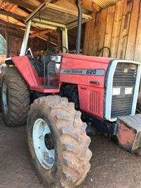 Trator Massey Ferguson 620 4x4 ano 94