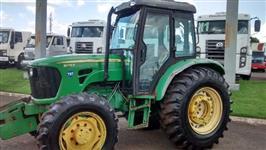 Trator John Deere JD 5078 E Cabinado 4x4 ano 12