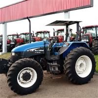 Trator New Holland TS 100 4x4 ano 05