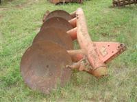 Arado massey ferguson 4 discos pode trabalhar com 3 discos serve john deere ford