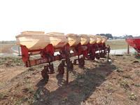 Cultivador adubador distribuidor incorporador plantio direto milho cana p/Trator