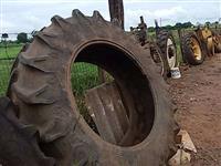 Pneus agrícola colhedora de cana case 400/60 15.5 eou 20.8.42 pistão e cubo rolamento (lote)