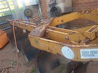 Arado raspa concha aiveca tatu reversível p/ trator agrícola  Massey Ford John Deere  New Holland