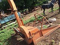 Forrageira para milho sorgo capim p/ trator agrícola Massey Ford Valtra John Deere  New Holland