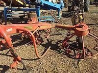 Ancinho nogueira Haynog 300 p/ trator agrícola pneus Massey Ford John Deere Valtra New Holland