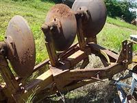 Lote arados 3 bacias discos jan e tatu 2 peças P/ trator agrícola pneus Massey Ford New Holland