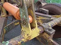 Arado subsolador controle 5 hastes p trator agrícola Massey Ford New Holland John Deere