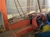 Forrageira menta  mit robust maquina funciona normal p trator agrícola de pneus Massey Ford John Dee