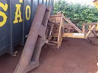 Abridor de carreador canavieiro para trator agrícola Massey Ford John Deere New Holland Valtra