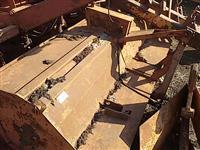 Roçadeira triton trincha hidráulica agrícola p/ trator Massey Ford Valtra John Deere