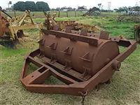 Rolo faca pesado agrícola canavieiro trator p/agrícola