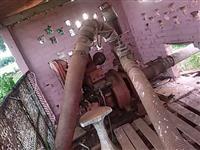 Moto bomba irrigação agrícola Diesel