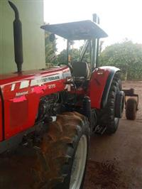 Trator Massey Ferguson 275 Collector 4x4 ano 09
