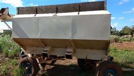 Carreta agrícola bazuca para trator Ford Massey Ferguson outros