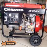 Gerador de Energia BRANCO a diesel BD-8000E