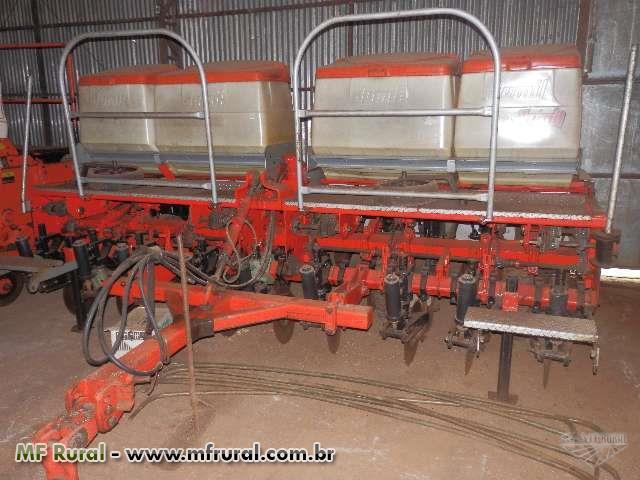 Plantadeira Jumil 9 Linhas – ano 2006 – fertisystem – Pantográfica