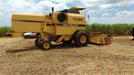 colheitadeira new Holland TC 55 ano 95