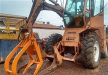 Trator carregadeira Valtra/Valmet BM 100 4x4 ano 07 Santal
