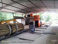 Madeira de eucalipto tratado para construção