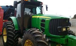 Trator John Deere 6415 4x4 ano 12