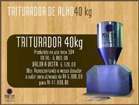 Triturador de alho  100 kg