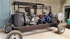 Conjunto Motobomba Irrigação Diesel MWM X-10 Turbo