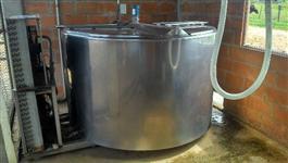 Tanque Resfriador FrioMax 3.000 L 2 Ordenhas Trifásico