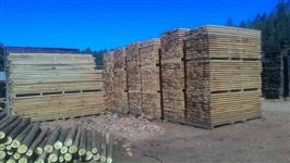 Madeira Serrada de Eucalipto e Pinus