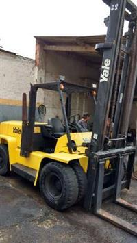 EMPILHADEIRA YALE GDP155CA ANO 2004 DIESEL TORRE ALTA PARA 7 TON .