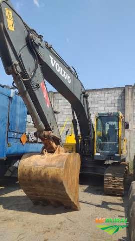 Escavadeira cat 320 hyundai volvo ec210 210 ec210b ano 2005
