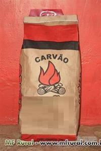 CARVÃO VEGETAL - FAVEIRA, ROXINHO E ETC