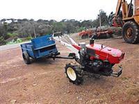 Trator Yanmar TC 10 4x2 ano 85