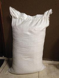 Palha de Arroz Ensacada - Casca de arroz o ano inteiro