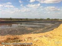 Revestimento de Lagoas e tanques (reservat.,tratamento, canais e piscicultura)