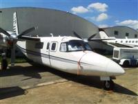 Vendo Twin Commander equipado com turbinas Garret TFE DE 717 SHP.