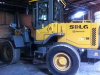 Vendo Pá Carregadeira SDLG 938 ano 2012 com apenas 3000 horas de uso