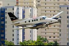 Vendo aeronave Beechcraft King Air C90A ano 1984