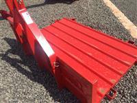Vendo plataforma traseira para trator