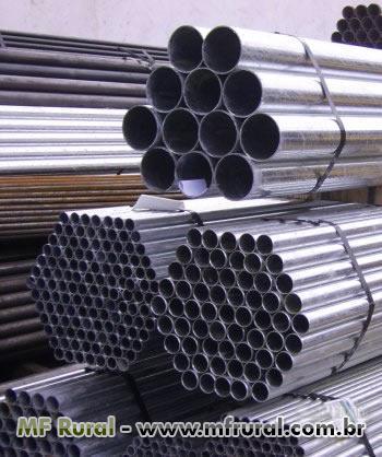 Tubos, conexões, Válvulas e Flanges (aço carbono, inox e demais)