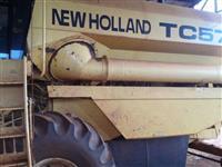 Colheitadeira TC 57 ano 2002 Plataforma 17 pés
